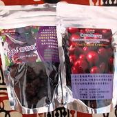 《輕果物語》美國進口蔓越莓乾5包+智利進口大果粒紅葡萄乾5包(120g x5包+120g x5包)