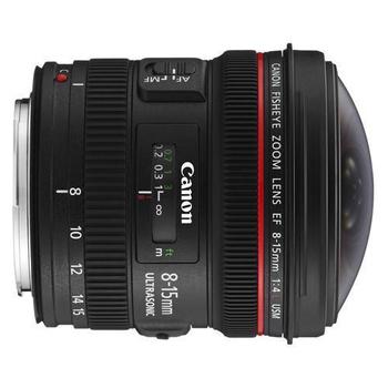 《Canon》EF 8-15mm f/4L fisheye USM 魚眼鏡頭*(平輸)-送專用拭鏡筆