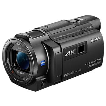 SONY FDR-AXP35 4K數位攝影機*(中文平輸)*加送64GC10+副電X2+攝影包+座充+減壓背帶+中腳+大吹球+清潔組+硬保(黑色)