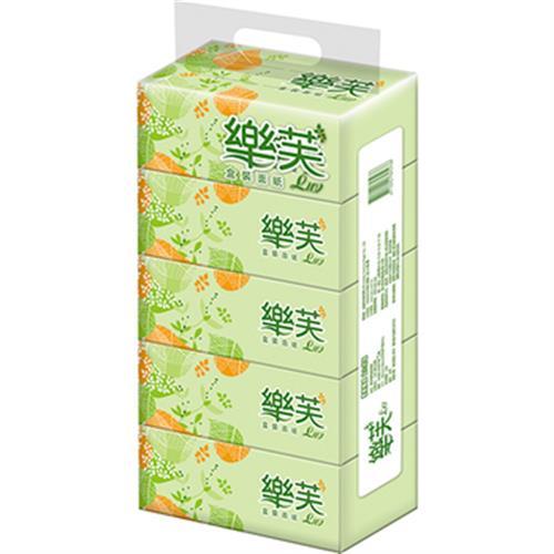 樂芙 盒裝面紙(200抽*5盒)
