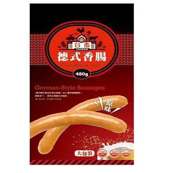 台畜 德式香腸原味(480g)