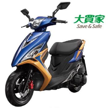 KYMCO 光陽機車 VJR 125 雙碟 (SE24AD) 2016全新車(亮藍/黃)