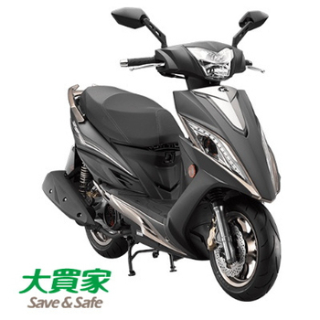 KYMCO 光陽機車 NEW G6 150 BREMBO 2017全新車(消光黑)