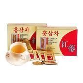 《金蔘》6年根韓國高麗紅蔘茶(100包/盒 共1盒)