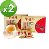《金蔘》6年根韓國高麗紅蔘茶(100包/盒 共2盒)