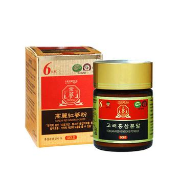 金蔘 6年根韓國高麗紅蔘粉(60g*1瓶)