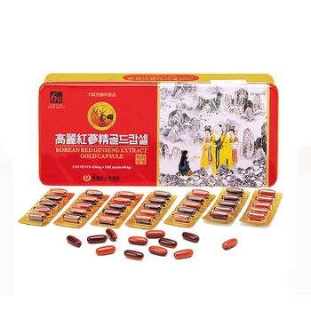 ★結帳現折★金蔘 6 年根韓國高麗紅蔘鹿茸精膠囊(120顆/盒(加贈蔘芝王3瓶))