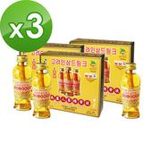 《金蔘》韓國高麗人蔘精華液(120ml*3瓶)(共3盒)