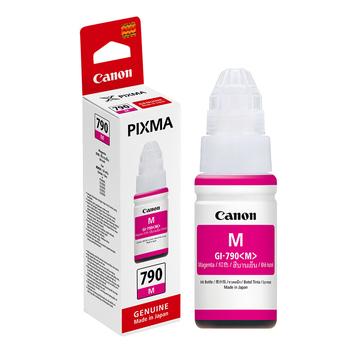 佳能 【原廠 盒裝】CANON GI-790 M 洋紅色連續供墨填充墨水 (適用 G1000/G2002/G3000 G系列)