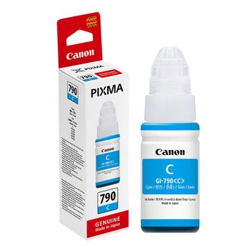 佳能 【原廠 盒裝】CANON GI-790 C 藍色連續供墨填充墨水 (適用 G1000/G2002/G3000 G系列)