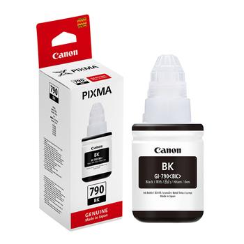 佳能 【原廠 盒裝】CANON GI-790 BK 黑色連續供墨填充墨水 (適用 G1000/G2002/G3000 G系列)