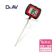 《Dr.AV》專業級旋轉大螢幕精準 溫度計(GE-27R_B)