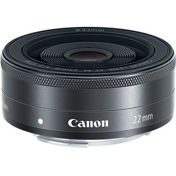 Canon EF-M 22mm F2.0 STM 定焦鏡(平輸-白盒)-送拭鏡筆