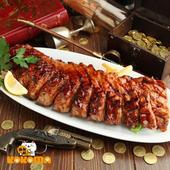 《極鮮配》美式蒜香碳烤豬肋排 (650g±50%/包)(1包入)