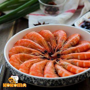 極鮮配 熟白蝦(1200g±10%/袋)