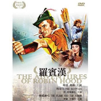 名人傳記系列11 羅賓漢DVD