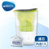 《德國BRITA》fill&enjoy FUN酷樂壺 / BRITA濾水壺1.5L 【內含1入濾芯】(綠色)