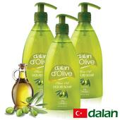 《土耳其dalan》頂級橄欖油液體香皂(400mlX3)買就送歐美香氛皂一入(隨機出貨)