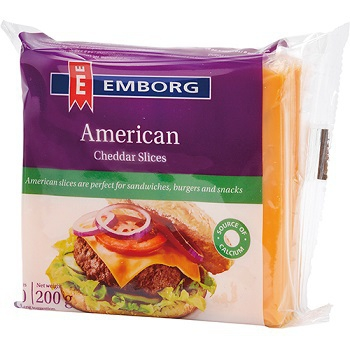 安博格 美國切達乾酪片(200g)