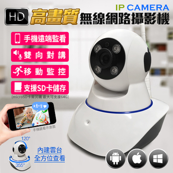 IP CAMERA高畫質無線網路攝影機(單機)