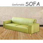《【時尚屋】》[U6]蘿絲蘋果綠特殊透氣皮三人座沙發U6-919-505