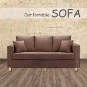 《【時尚屋】》[U6]傑西深咖啡三人座布套沙發U6-918-303