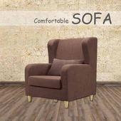 《【時尚屋】》[U6]傑西深咖啡單人座布套沙發U6-918-301