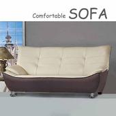 《【時尚屋】》[U6]309型三人座乳膠厚皮雙色沙發U6-908-103