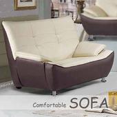 《【時尚屋】》[U6]309型雙人座乳膠厚皮雙色沙發U6-908-102