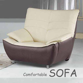 《【時尚屋】》[U6]309型單人座乳膠厚皮雙色沙發U6-908-101