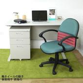 《時尚屋》CD140HF-62灰色辦公桌櫃椅組