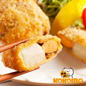 極鮮配 北海道黃金干貝酥(150G±10%/1包6入)