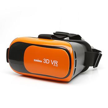 《Suniwin 尚耘國際》3D VR虛擬眼鏡 VR-500(橘色)