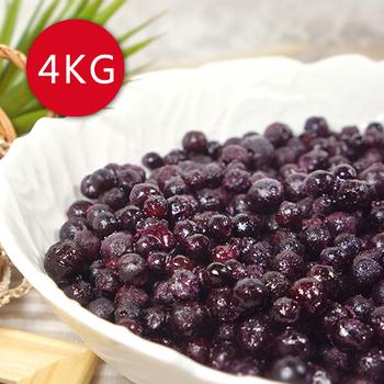 《幸美生技》加拿大進口野生藍莓4公斤免運