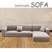 《【時尚屋】》[U6]傑克淺咖啡色布套三人L型沙發