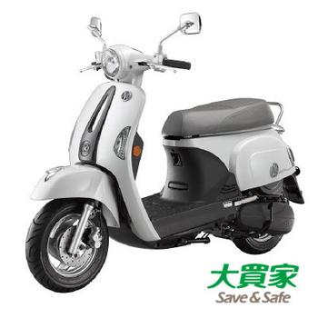 KYMCO 光陽機車 Many110 2016仕樣 水鑽 MMC (SE22BJ) - 2017全新車(珍珠白)
