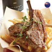 《欣明生鮮肉品》澳洲帶骨小羊排(2片-100公克±10%)*5份)