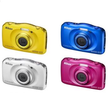 《NIKON》Coolpix W100 防水 防塵 防震 數位相機(黃)