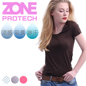 《ZONE》諾貝爾超輕薄涼感衣-咖啡/粉兩件組(全四色)(M)