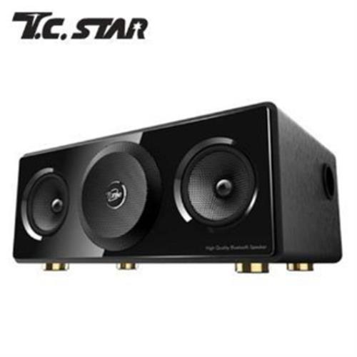 TCSTAR 智慧HiFi藍牙喇叭TCS3000(黑色/銀色/木紋 隨機出貨)