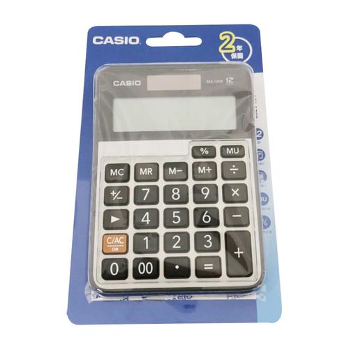 《CASIO》12位數計算機MX-120B
