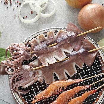 金牌魷魚串燒(140~160g/串)