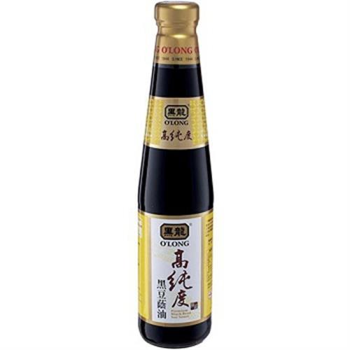 黑龍 高純度黑豆蔭油(400ml/瓶)