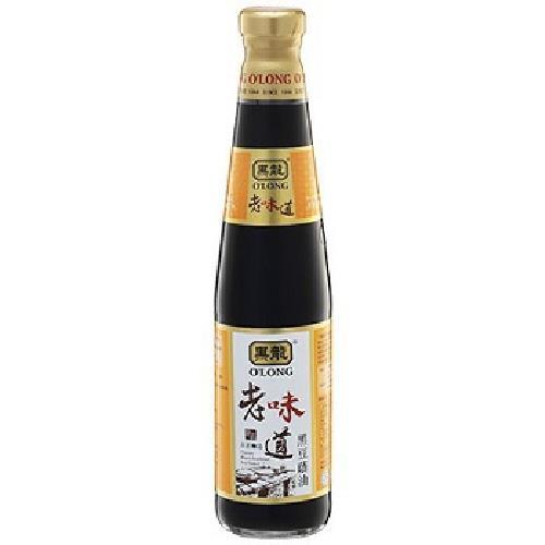 黑龍 老味道黑豆蔭油(400ml/瓶)