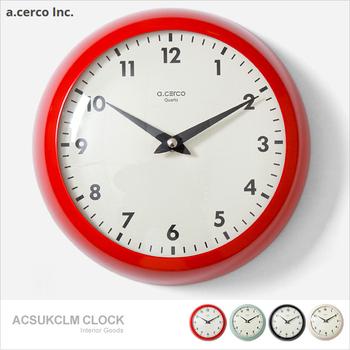 a.cerco Eyeball clock Large 經典造型 大鐵鐘(四色可選)?(紅色)