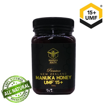 Manuka South 紐西蘭 UMF 15+ 麥蘆卡蜂蜜(250g)