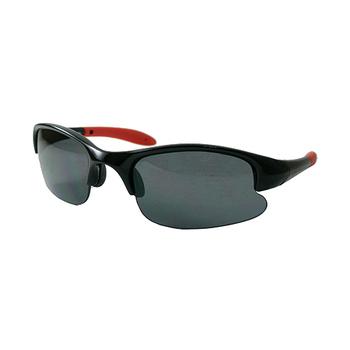 《Chimon Ritz》超跑兒童太陽眼鏡-黑 (雙色鏡架)
