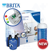 《德國BRITA》LED On Line A1000長效型濾水器+A1000濾芯一支【本組合共二支濾芯】
