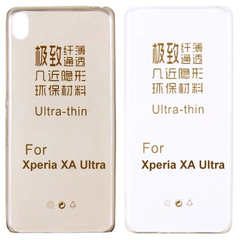 【KooPin力宏】SONY Xperia XA Ultra 6吋 極薄隱形保護套/清水套(透明白)
