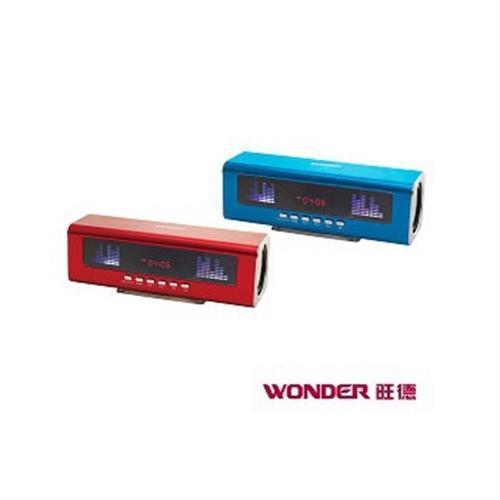 旺德 USB/FM/MP3隨身音響 CD-A124U(顏色隨機出貨)